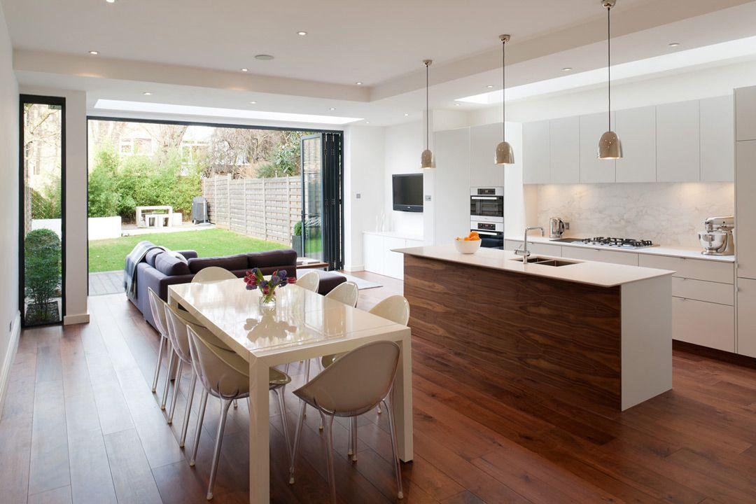 Idee di cucine moderne con elementi in legno cucine moderne