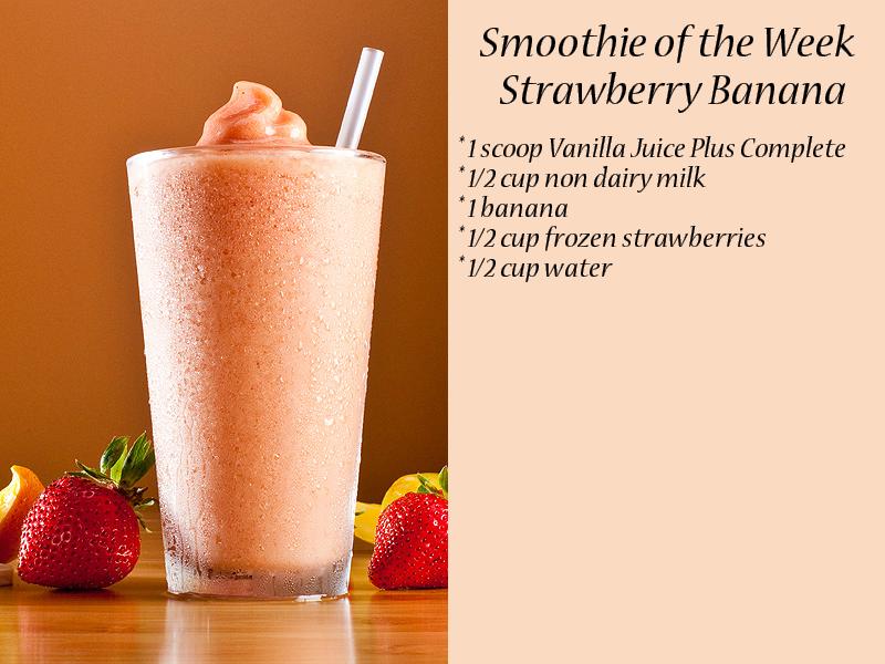 Verwonderend Strawberry Banana (With images) | Juice plus complete, Juice plus QF-98