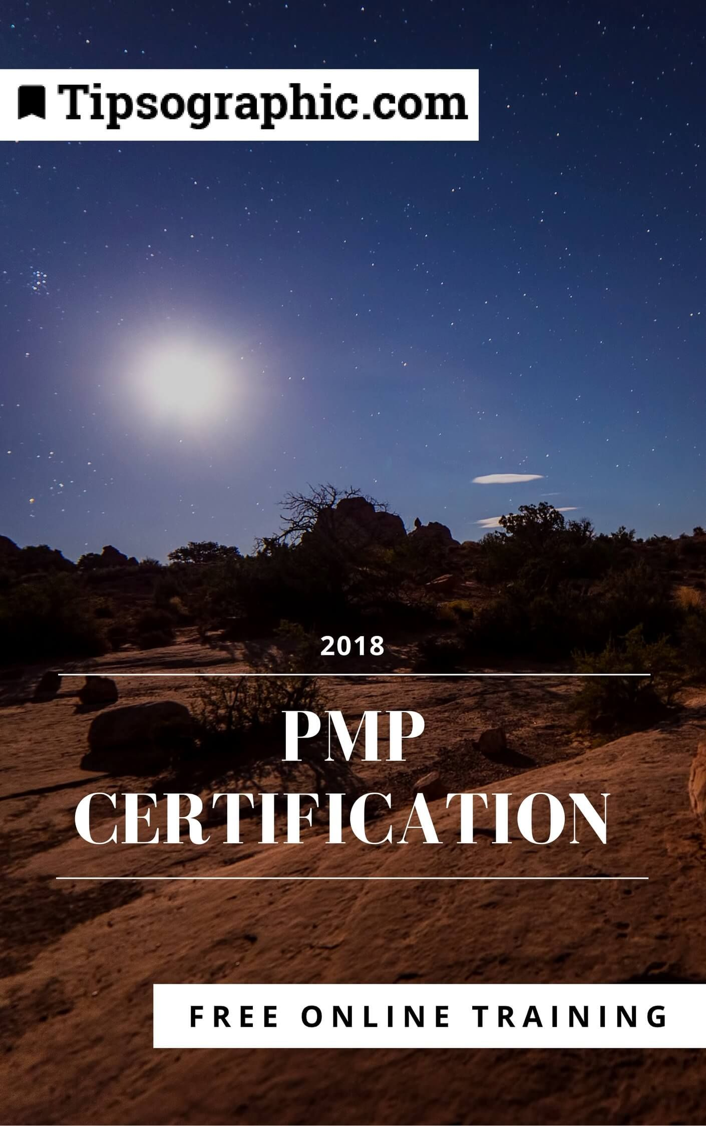 Pmp Certification 2018 Free Online Training Based On Pmbok6