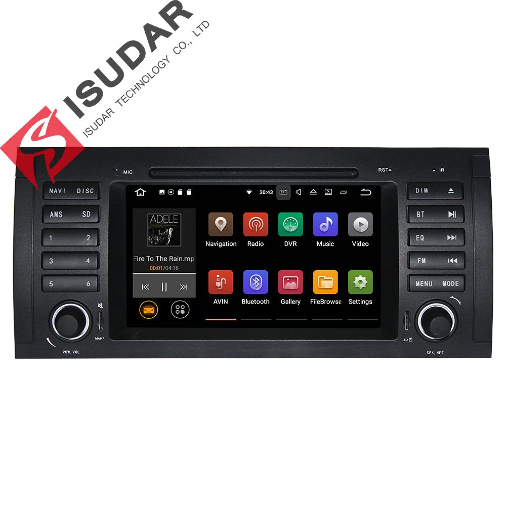 7 Inch In Dash Car DVD Player Multimedia For BMW