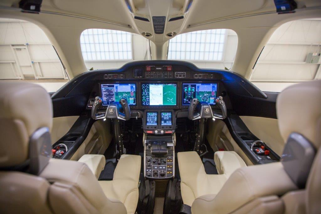 Image result for hondajet cockpit