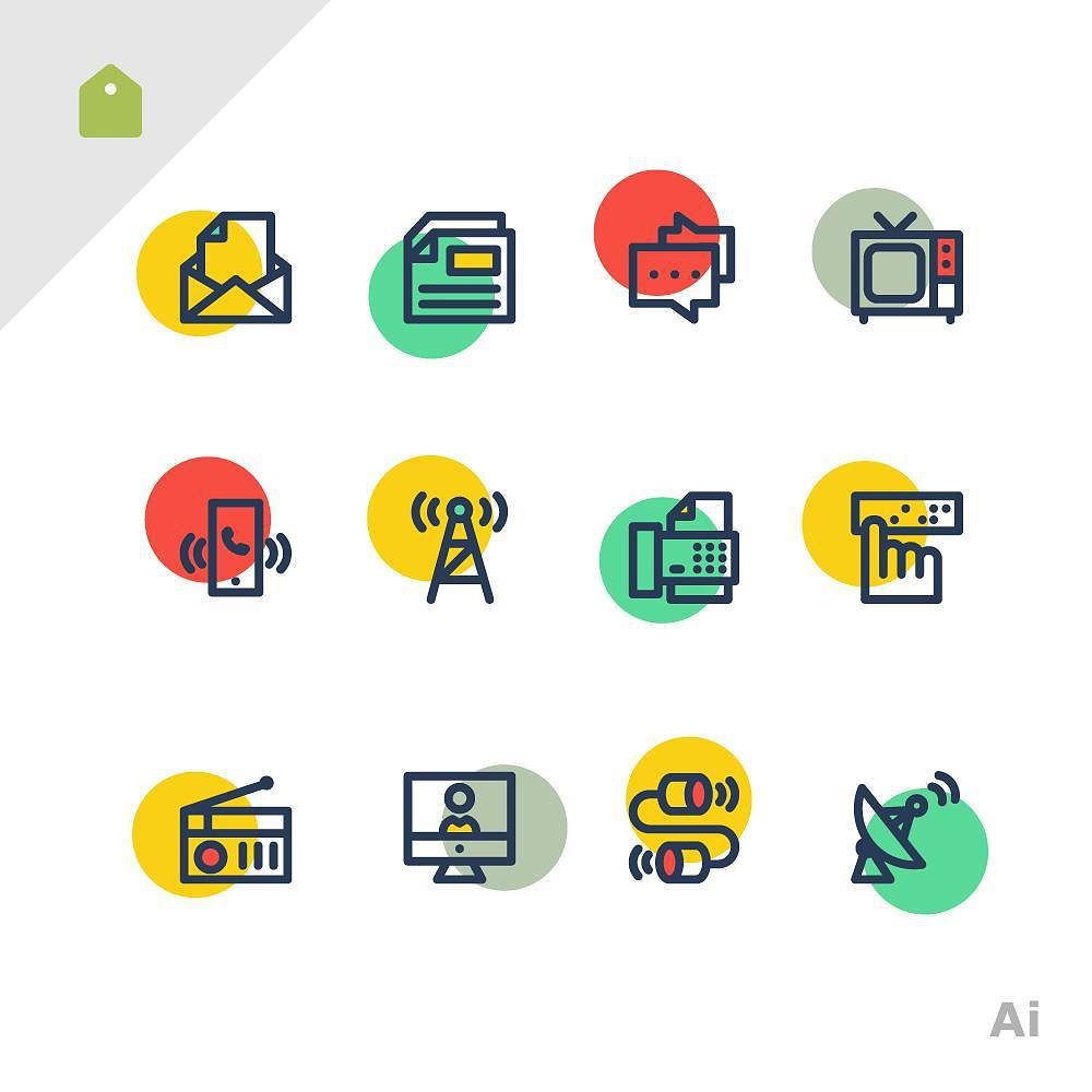 Sooodesign On Instagram You Can Download The Free Set On My Dribbble Page Enjoy It Freebie Icons Communication Icon Pictogramme Icone Gratuit Radios