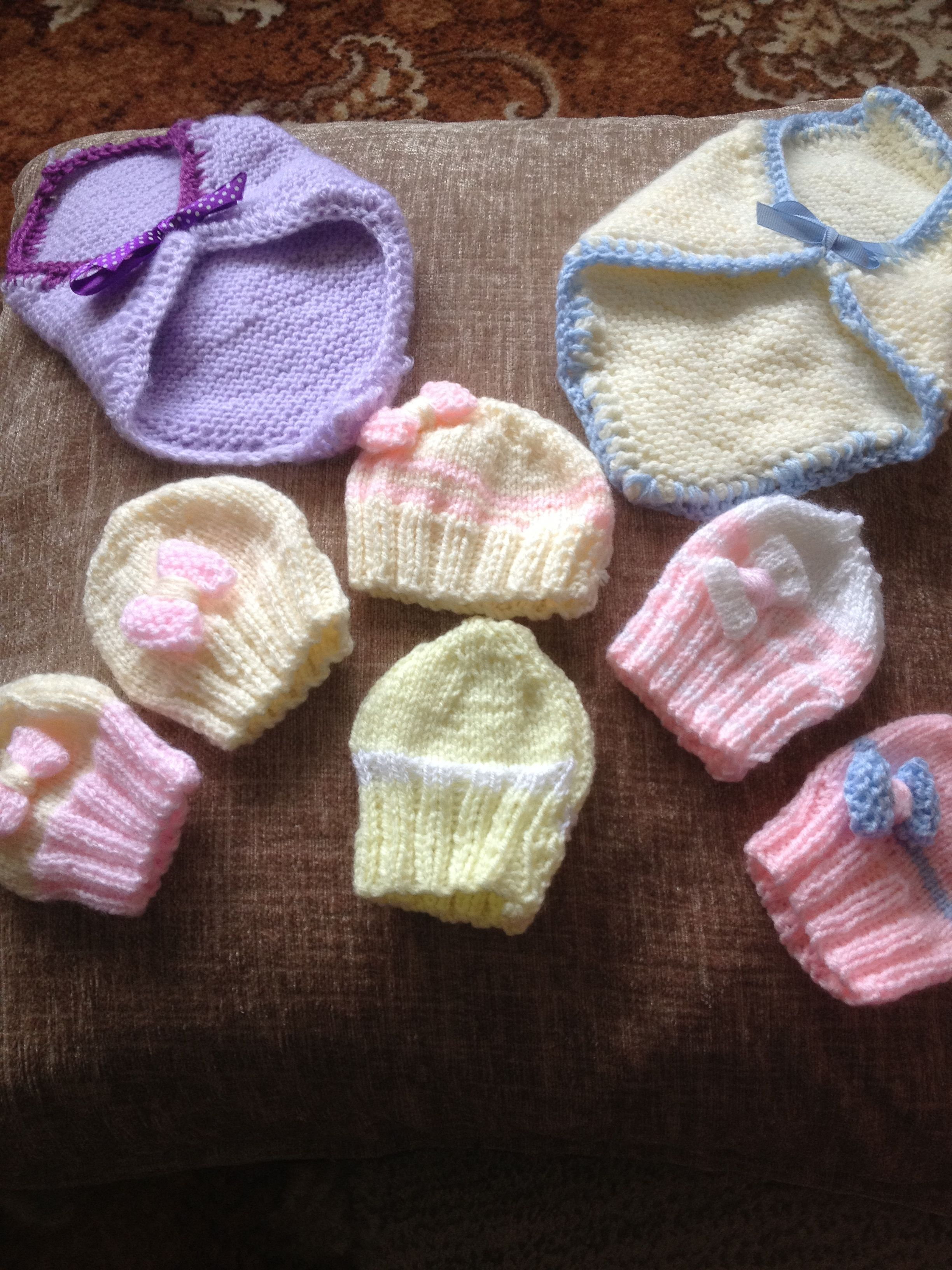 For The Premature Babies Baby Hats Knitting Baby