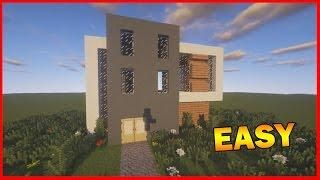 Minecraft How To Build A Realistic Modern House Best Mansion - Minecraft moderne hauser anleitung