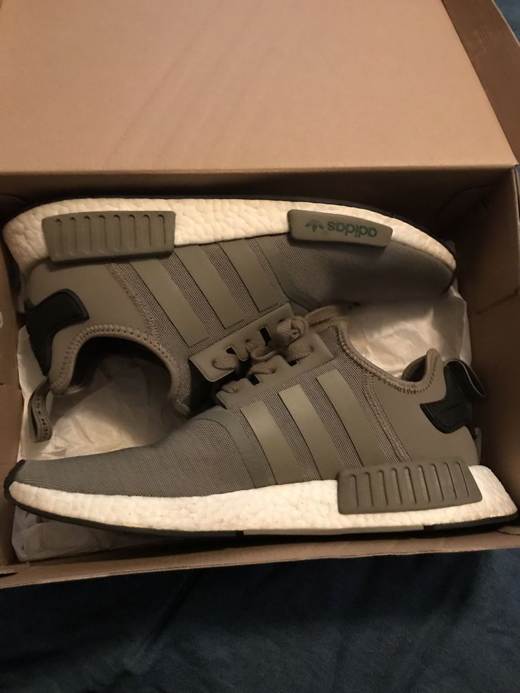 adidas nmd r1 men Green Olive Size 11