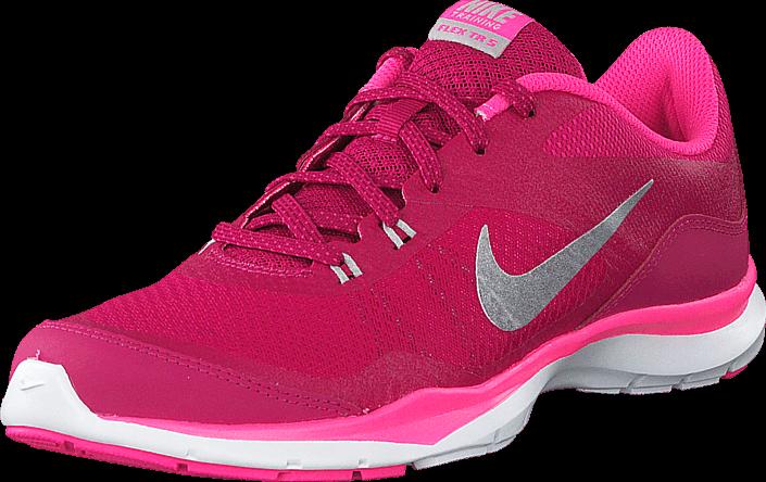 Nike - Wmns Nike Flex Trainer 5 Sprt Fchs/Mtllc Slvr-Pnk Pw-Vv