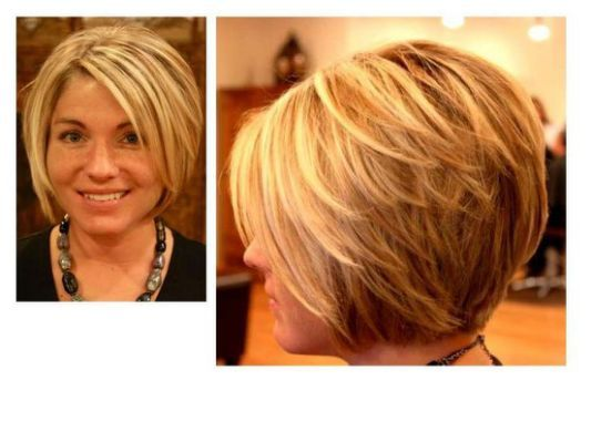 Stacked A Line Bob Haircut Hairstyles Hair Bobs In 2018