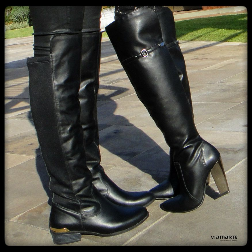boots - over boot - over the knee - bota cano alto