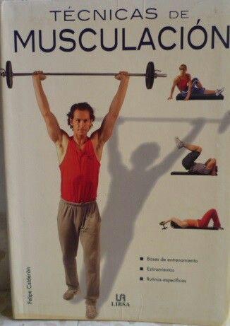 Técnicas de musculación libro de segunda mano