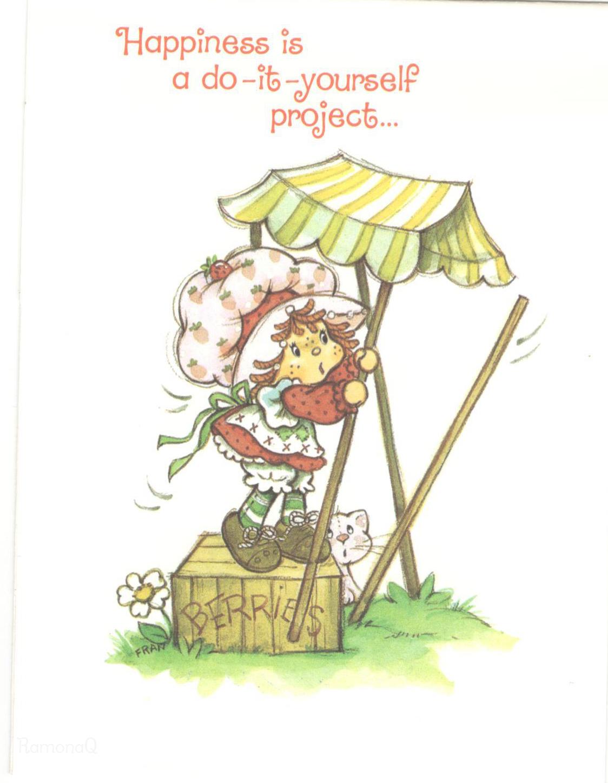 Vintage Kenner / American Greetings Strawberry Shortcake Greeting ...