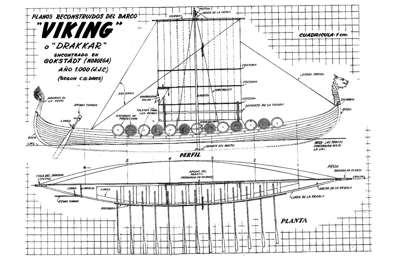Oseberg Ship Viking Ships Barco Vikingo Barcos Y
