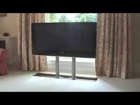 Future Automation Plasma Tv Hidden In Floor Flooring Facade House Interior Design Projects