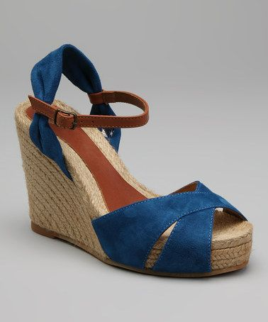 dd38e2687d1 Blue Katherine Espadrille by Eric Michael by Laurevan | for my feet ...
