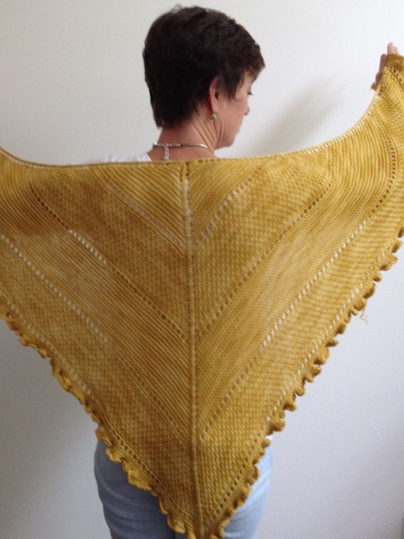 """Longevity Shawl Knit Along  Hello Knitters! It's KnitDocDonna here to introduce one of my favorite  projects and a veryspecial knit!If you could only choose just one  accessory piece what would it be? Something versatile, luxurious, timeless  and at the same time practical? That's what was on my list so here's my  choice.  Meet """"Longevity"""" agenerously sized cashmere blend shawl built to not only  stand the test of time, but actually improve with each and every wearing.  And, I'm…"""