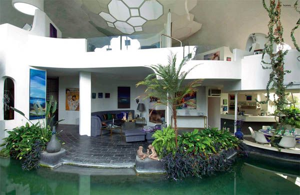 Garden House Design from Fritz Eisenhofer Green Ideas for Eco