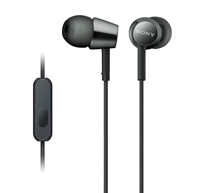 Sony Earbuds With Microphone In Ear Headphones And Volume Control Built In Mic Earphones For Smartphone Tablet Laptop 3 In 2020 Headphones In Ear Headphones Earbuds
