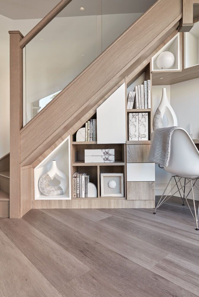 Under Stairs Office Furniture With images   Desk under ...