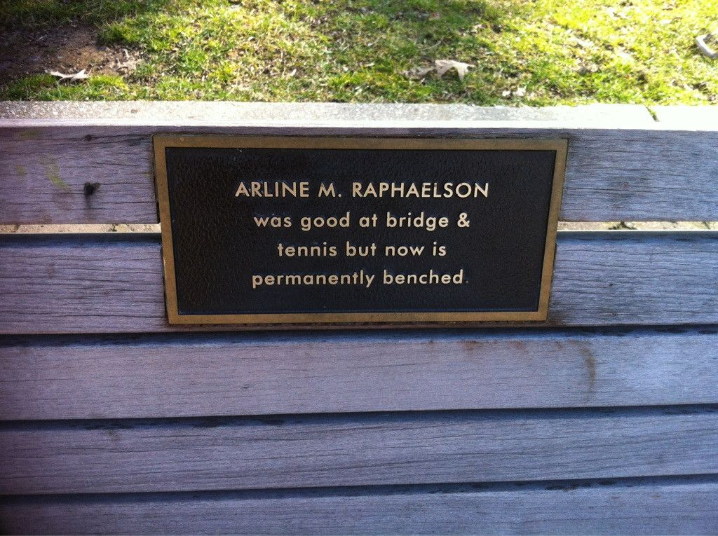Pin By Aadushkin On Memorial Bench Signs Pinterest Hilarious