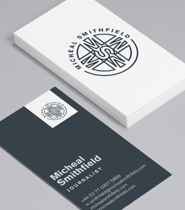 Customizable Business Cards Design Templates Moo Us Business Card Template Design Mini Business Card Business Card Design