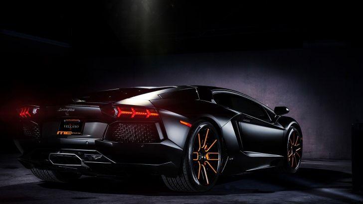 Matte Black Lamborghini Aventador On Vellano Wheels Wallpaper Black Hd Wallpaper Lamborghini Aventador Wallpaper Black Wallpaper