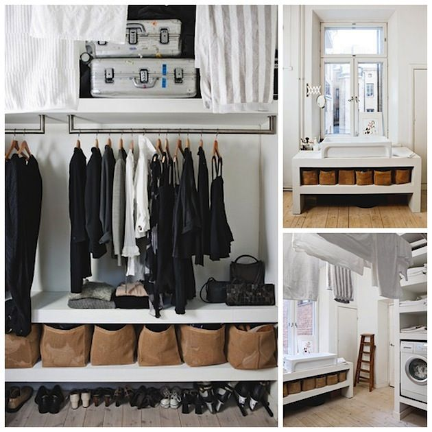 Tanja Jnickes home combined laundry room and walkin