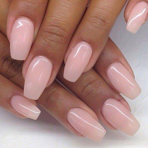 Pink natural nail sculpts | Nails❤ | Pinterest | Natural nails ...