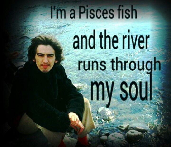 "George Harrison ""Pisces Fish""."