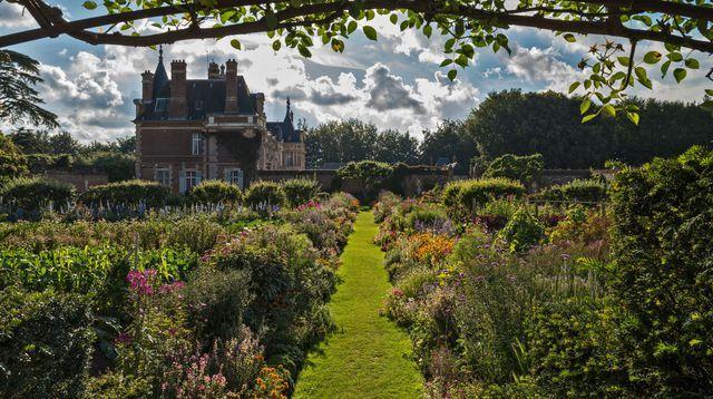 Jardin de Miromesnil: le beau et le bon