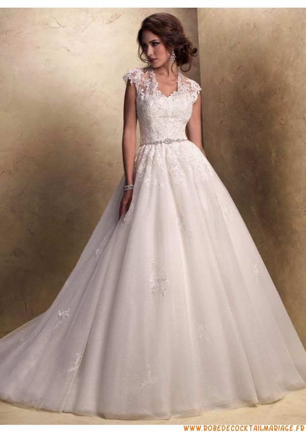 Robe blanche de mariage 2013