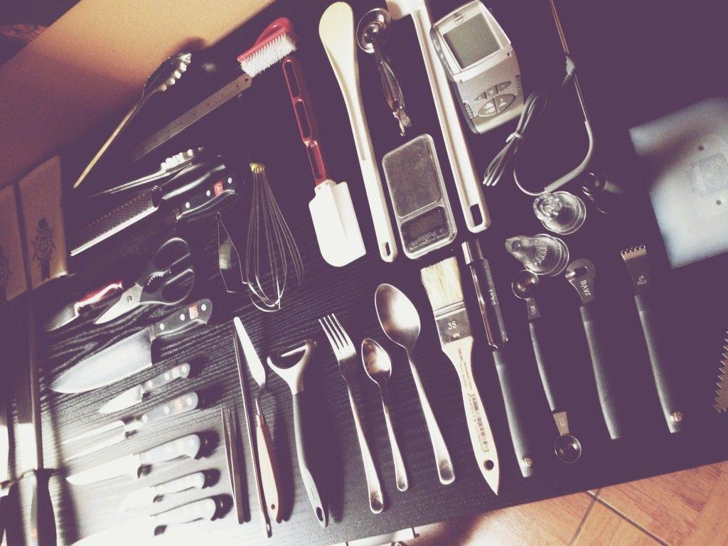 Herramientas de trabajo de un cocinero a domicilio   Trucos para tu ...