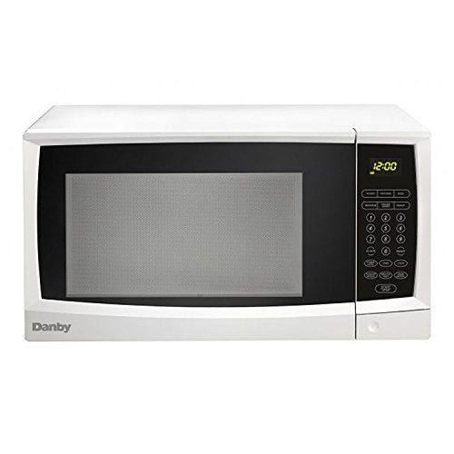 Danby 1 1 Cu Ft White Capacity Microwave With Images Countertop Microwave Danby Microwave
