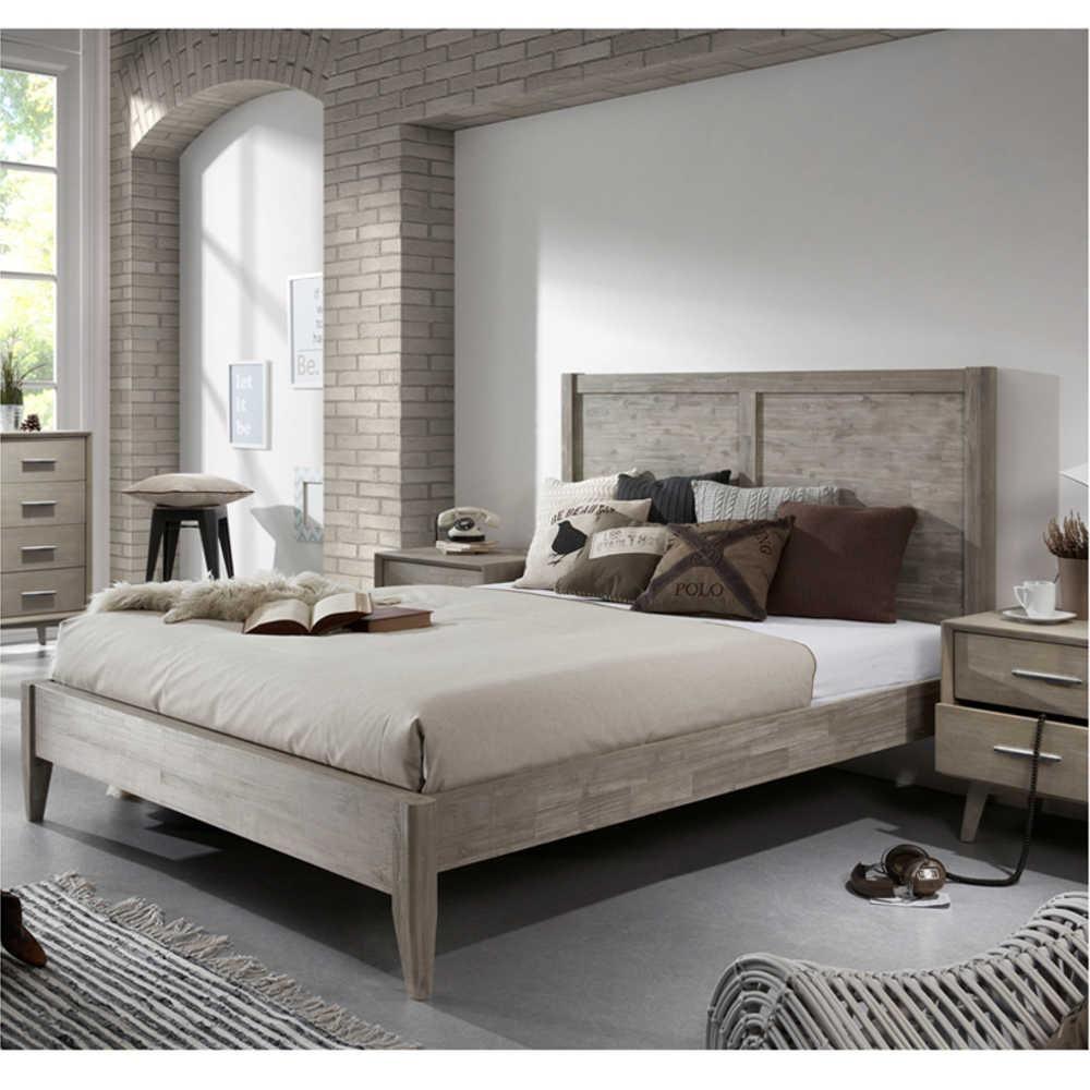 Seattle King Size Bed | King size, Minimalist bedroom and Minimalist