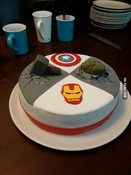 The Avengers Cake super nice!