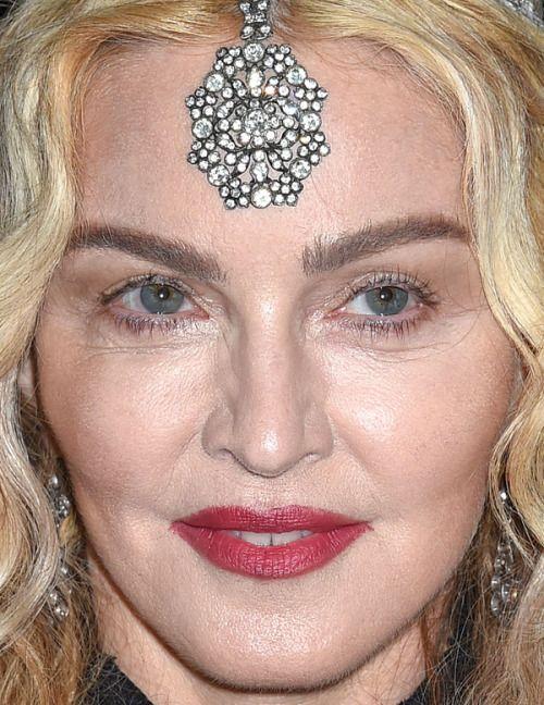 Madonna At The 2016 Met Gala More Close Ups Of Madonna
