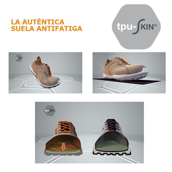 Suela Tpu skin La Base Auténtica AntifatigaCalzado AjLR354