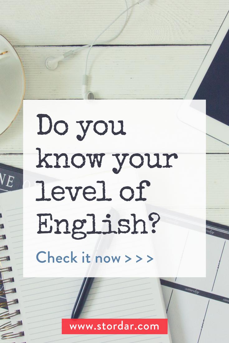 English Level Test | Advanced English | English learning spoken