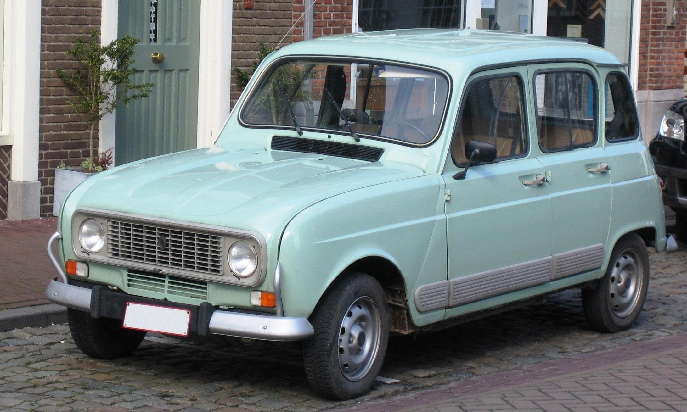 Old Car Renault 4 Renault 4 Pinterest Economy Car