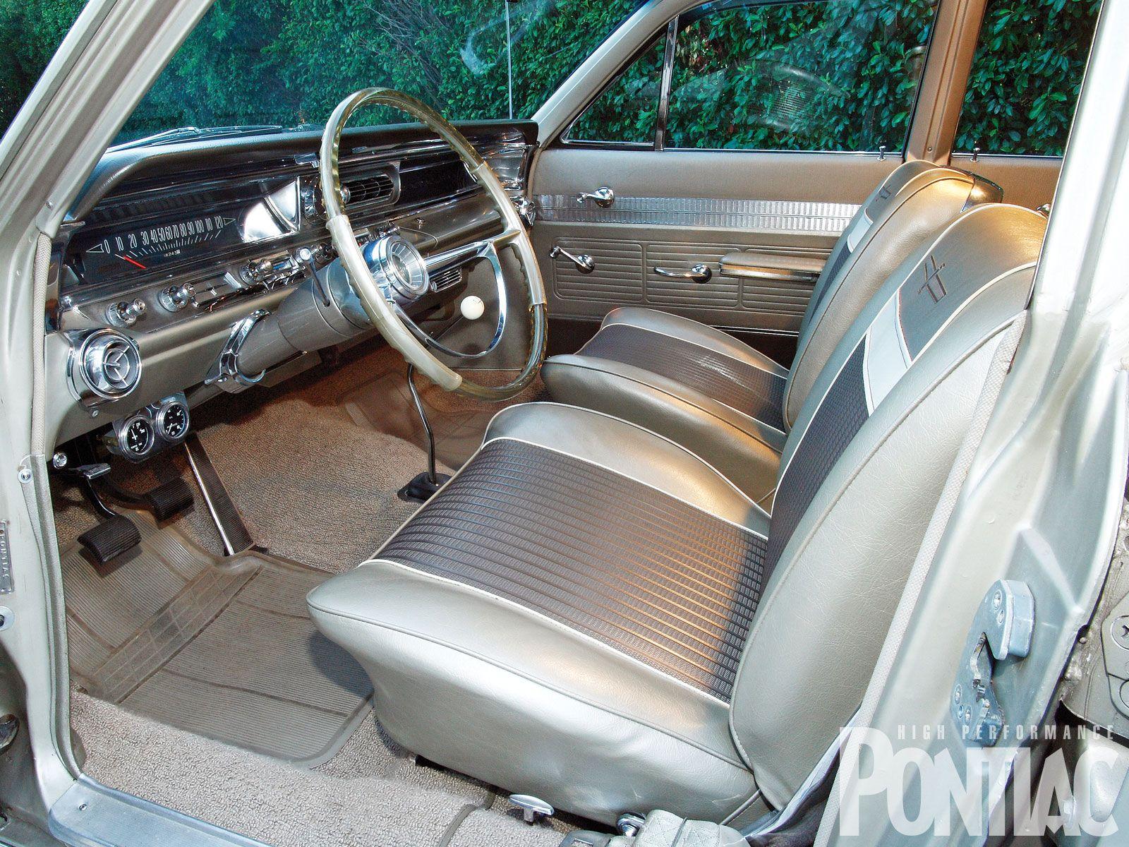 1963 pontiac catalina safari station wagon interior