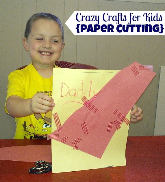 crazy craft ideas for kids paper cutting craft crafts for with 6408