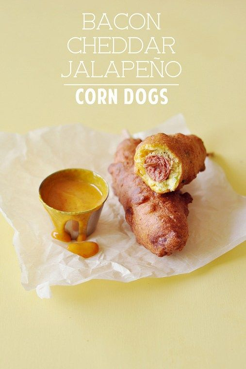 Bacon Cheddar Jalapeño Corn Dogs