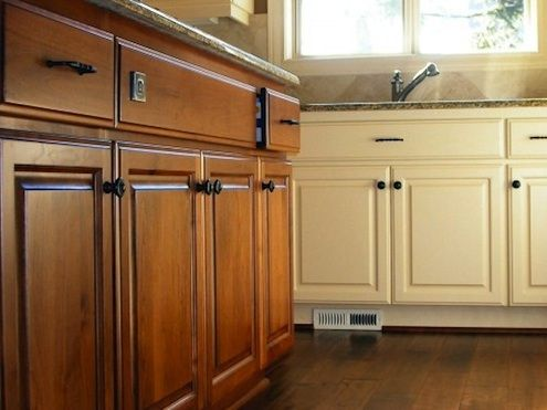 How To Restore Cabinet Finishes Stained Kitchen Cabinets Clean