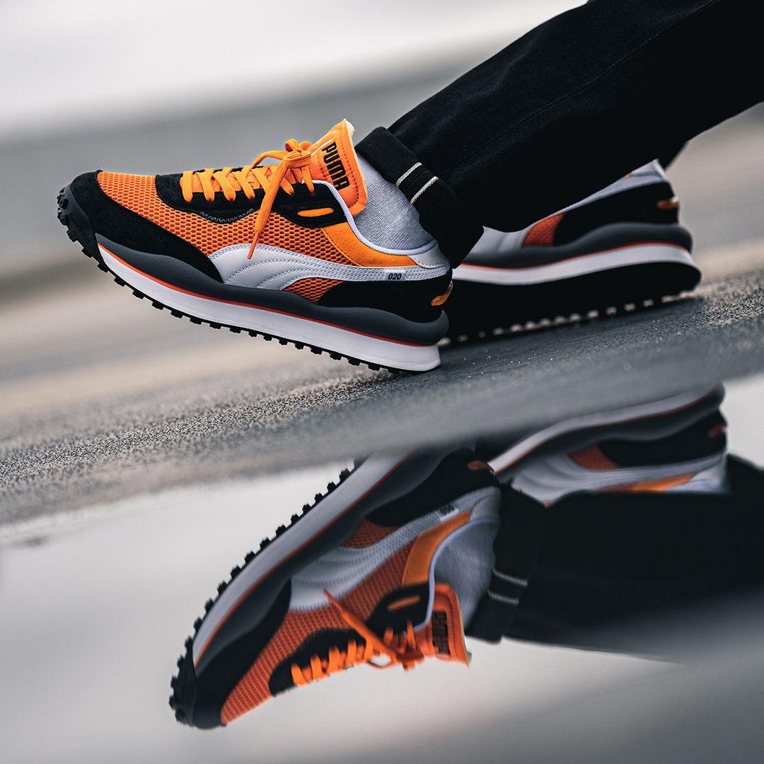Puma Fast Rider Og Pack In Orange 37287601