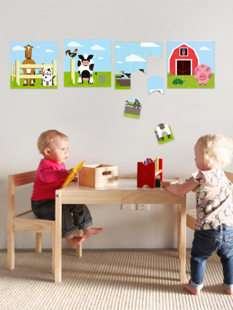 The Coolest Wall Decals for Kids' Rooms   Kids Room Ideas for Playroom, Bedroom, Bathroom   HGTV