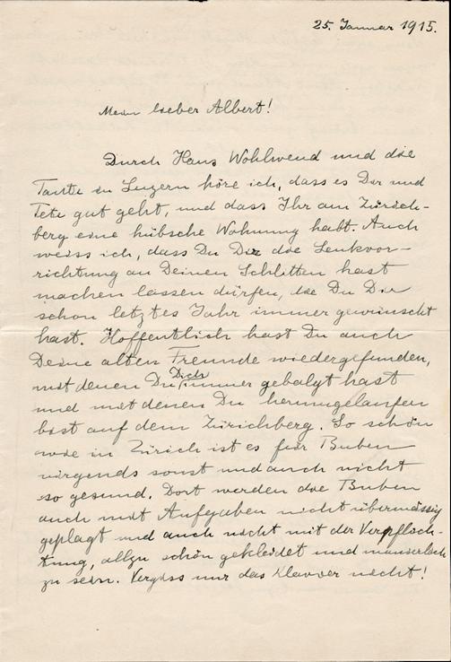 Resultado de imagem para letter from albert einstein to son