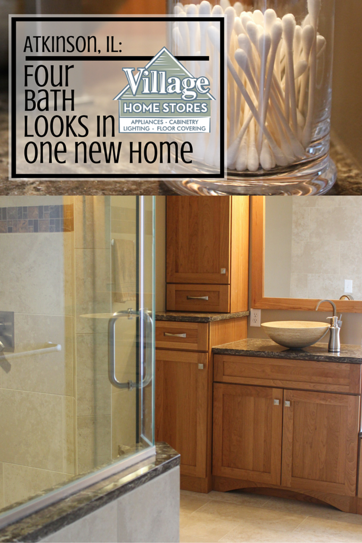 Four bathrooms featured in one blog post. Read more about these ...