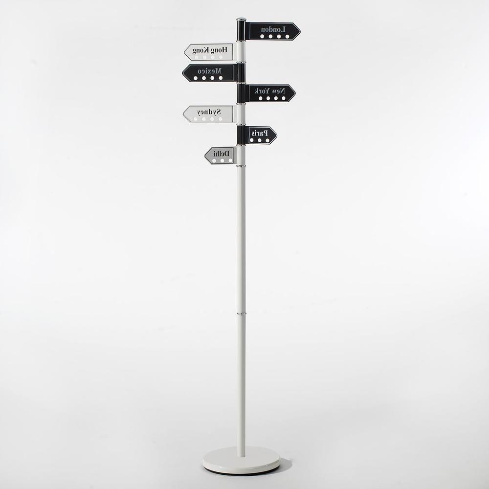 Kleiderständer Weiß Metall kleiderständer standgarderobe flur diele möbel design in schwarz