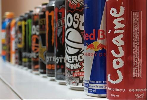 La cafeina presente en las bebidas energeticas