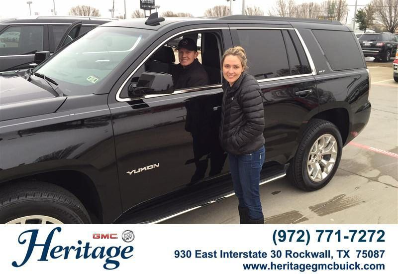 Congratulations to Mark Latham on your #GMC #Yukon purchase from Dane Gray at Heritage Buick GMC! #NewCar