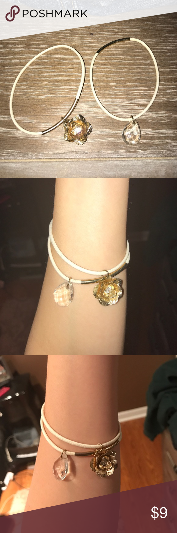 bracelets worn once other than that just trying to get it off my hands Jewelry Bracelets