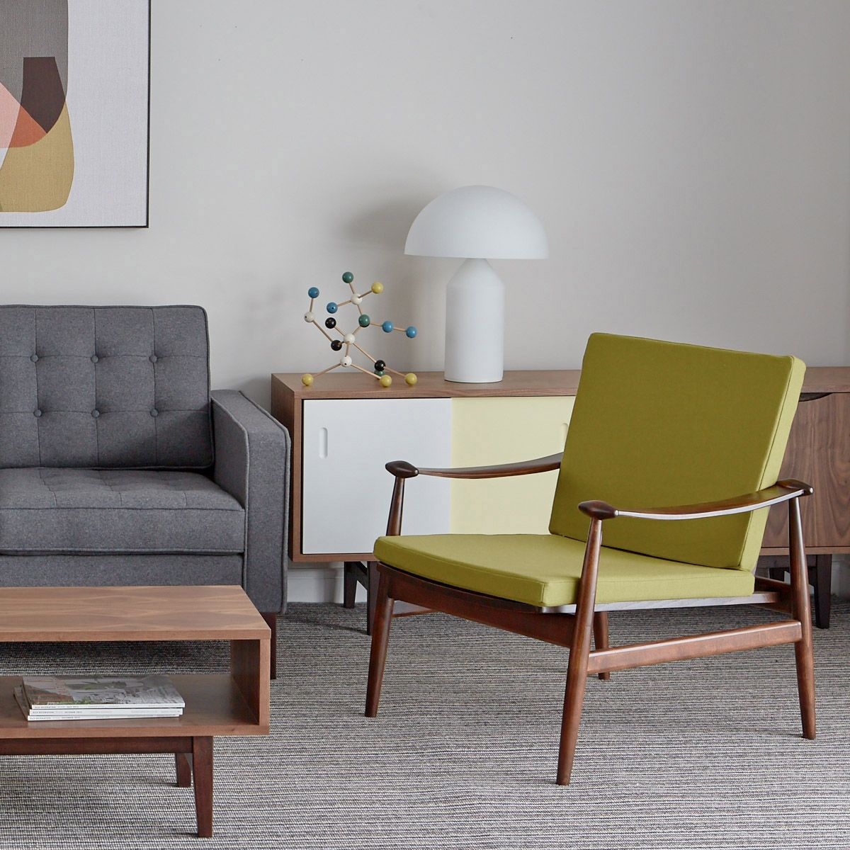 Best This Comfortable Visually Light Armchair Is A 400 x 300
